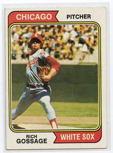 Photo of 1974 Topps #542 Goose Gossage