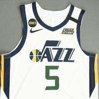 Jarrell Brantley - Utah Jazz - Game-Worn Association Edition Jersey - Dressed, Did Not Play (DNP) - 2019-20 NBA Season Restart with Social Justice Message
