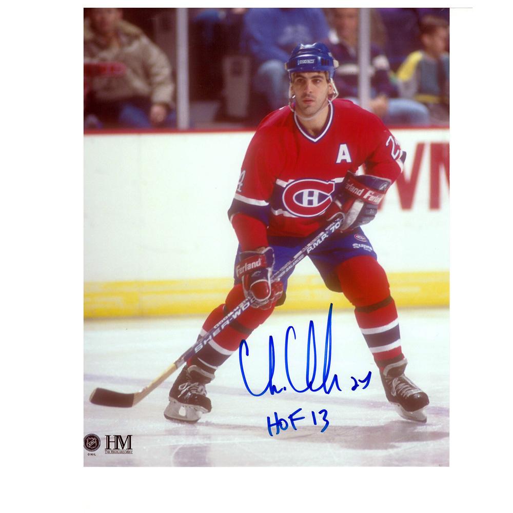 CHRIS CHELIOS Signed Montreal Canadiens 8 X 10 Photo - 70082
