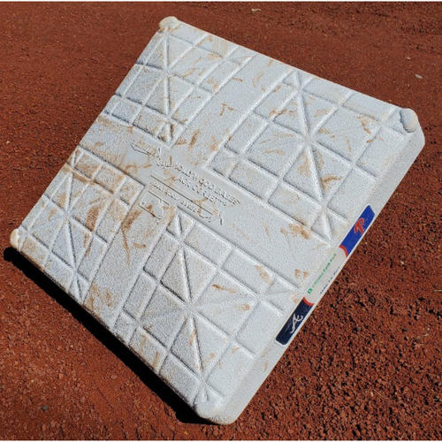 Photo of 2021 Phillies Game-Used 2nd Base - Ian Anderson 1st Career Base it (Double)