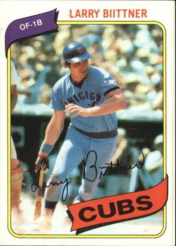 Photo of 1980 Topps #639 Larry Biittner