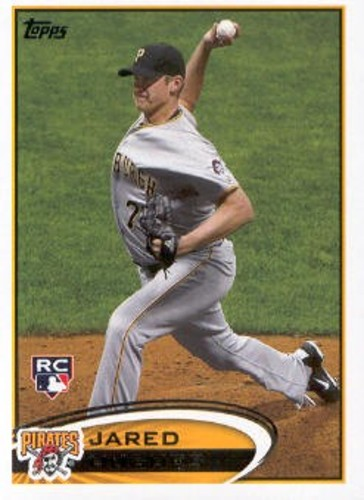 Photo of 2012 Topps #175 Jared Hughes RC