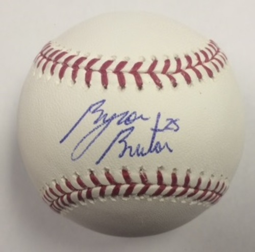 Photo of Byron Buxton Autographed Baseball