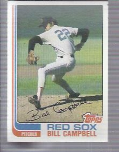 Photo of 1982 Topps #619 Bill Campbell