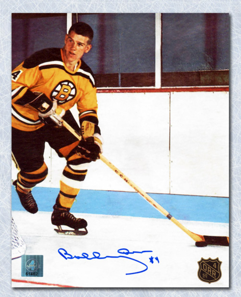 Bobby Orr Boston Bruins Signed 1st NHL Game 50th Anniversary 8x10 Photo: GNR COA