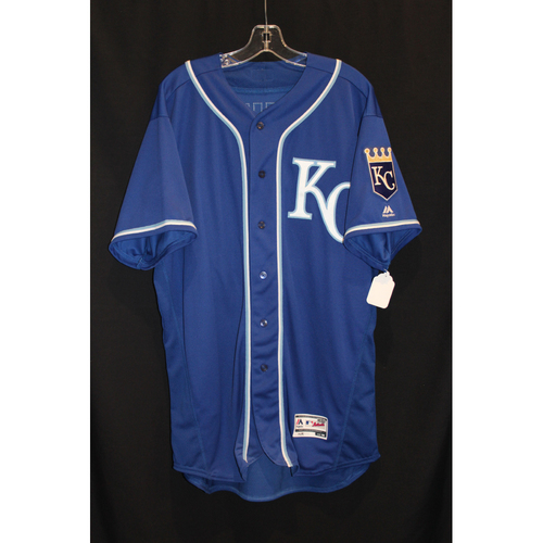 Game-Used Jersey: Ryan Buchter (Size 50 - KC at BOS - 7/30/17)