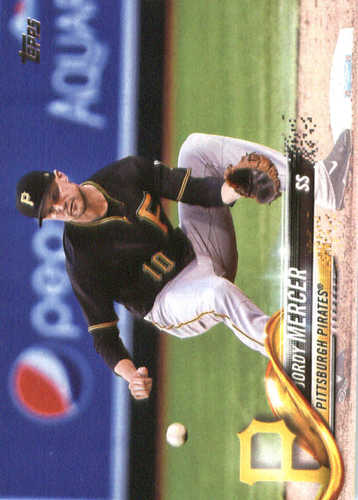 Photo of 2018 Topps #23 Jordy Mercer