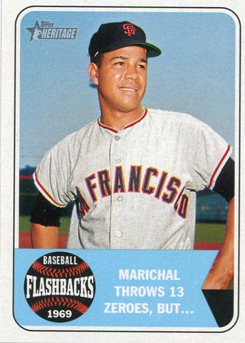 Photo of 2018 Topps Heritage Baseball Flashbacks #BFJM Juan Marichal