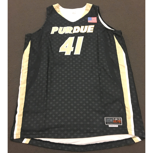 Photo of Guyton #41 Purdue Women's Basketball Black Jersey