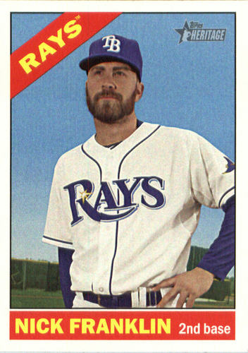 Photo of 2015 Topps Heritage #615 Nick Franklin