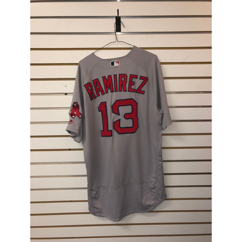 Photo of Hanley Ramirez Team-Issued 2018 Road Jersey