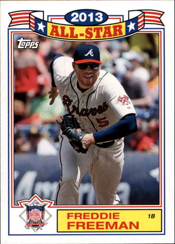 Photo of 2014 Topps Archives '87 All-Stars #87FF Freddie Freeman