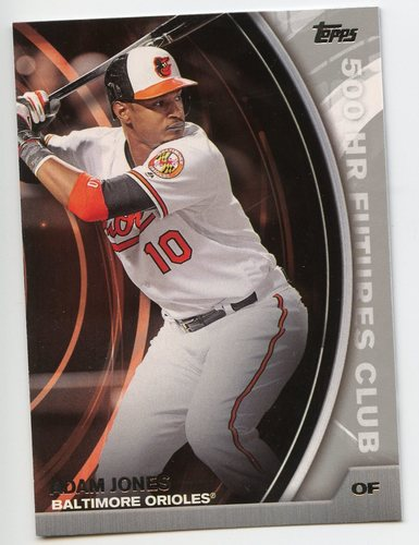 Photo of 2016 Topps Update 500 HR Futures Club Silver #5007 Adam Jones