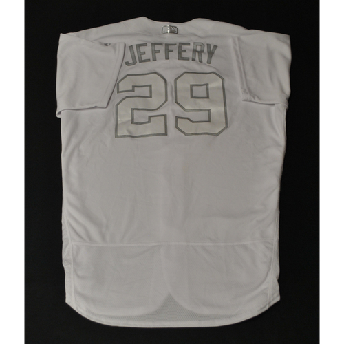 "Photo of Joe ""JEFFREY"" Biagini Houston Astros Game-Used 2019 Players' Weekend Jersey"