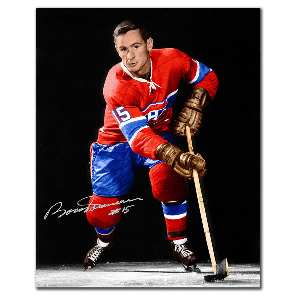 Bobby Rousseau Montreal Canadiens Autographed 8x10