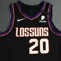 Dario Saric - Phoenix Suns - Game-Worn City Edition Jersey - 2019-20 NBA Season