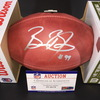 NFL - Panthers Brian Burns Signed Authentic Football