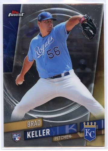 Photo of 2019 Finest #105 Brad Keller SP RC
