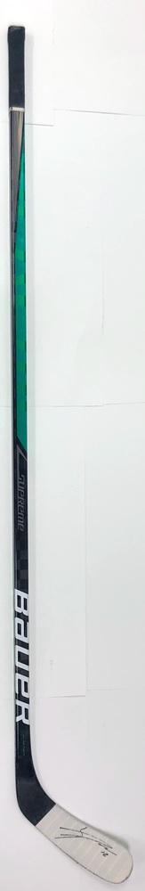 #18 Jason Dickinson Game Used Stick - Autographed - Dallas Stars