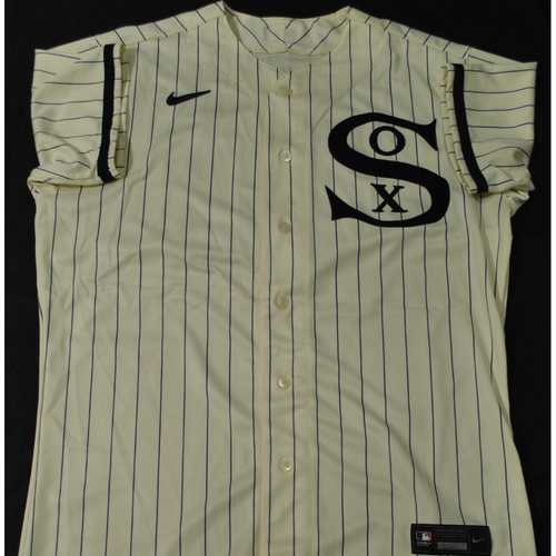 2021 New York Yankees vs. Chicago White Sox in Dyersville, Iowa - Game-Used 1919 Throwback Jersey - Reynaldo Lopez - Size 46 2S