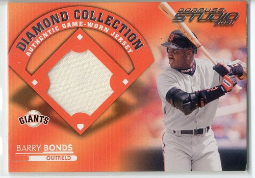 Photo of 2001 Studio Diamond Collection #DC2 Barry Bonds