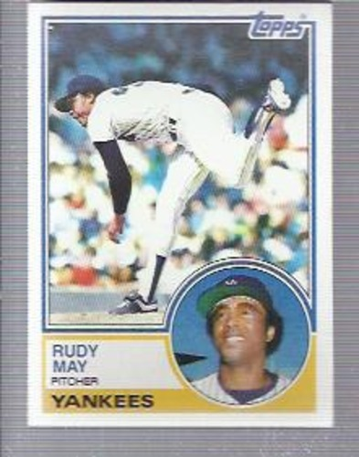 Photo of 1983 Topps #408 Rudy May