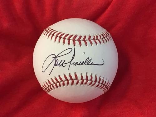 Lou Piniella Autographed Baseball