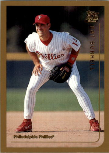 Photo of 1999 Topps Traded Autographs #T44 Pat Burrell