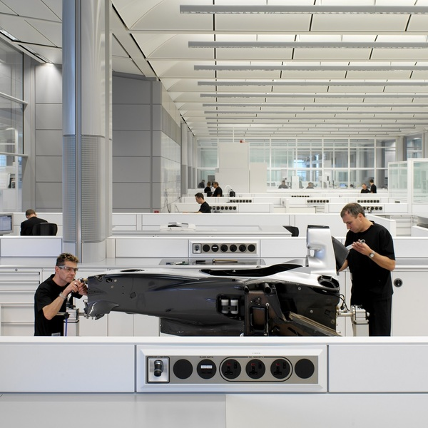 Photo of McLaren-Honda VIP Factory Tour at McLaren Technology Centre