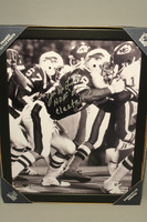 HOF - BILLS JOE DELAMIELLEURE SIGNED 11X14 FRAMED PICTURE