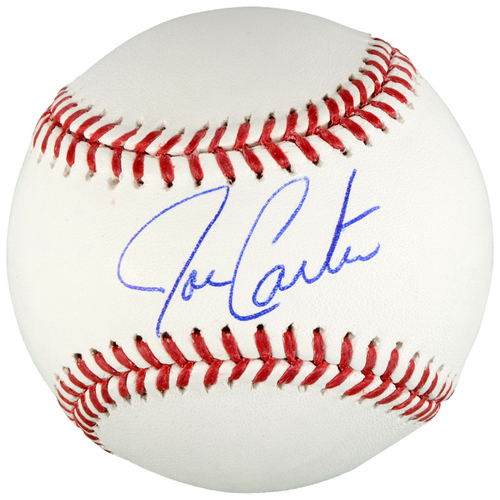 Photo of Joe Carter Toronto Blue Jays Autographed Baseball