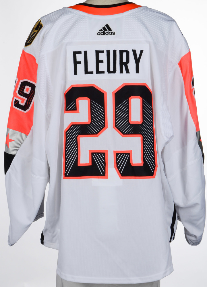 separation shoes f3e5a dfd9b Game Vegas 2018 - Fleury backup Marc-andre Knights All-star ...
