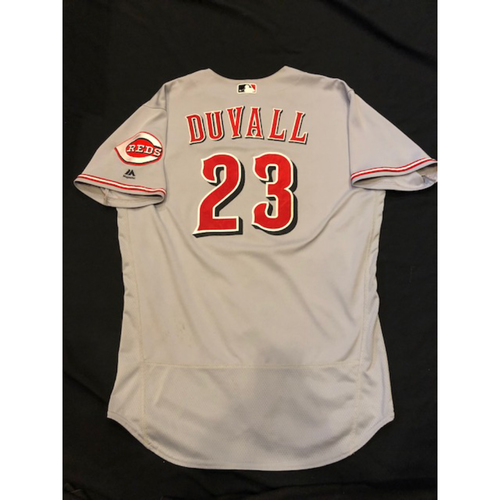 Photo of Adam Duvall - Game-Used Jersey - Authenticated to 6 Games & 4 Home Runs