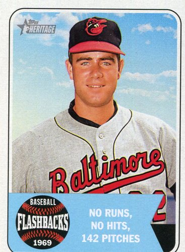 Photo of 2018 Topps Heritage Baseball Flashbacks #BFJP Jim Palmer