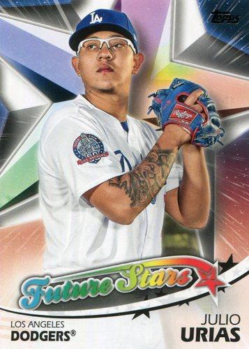 Photo of 2018 Topps Future Stars #FS49 Julio Urias