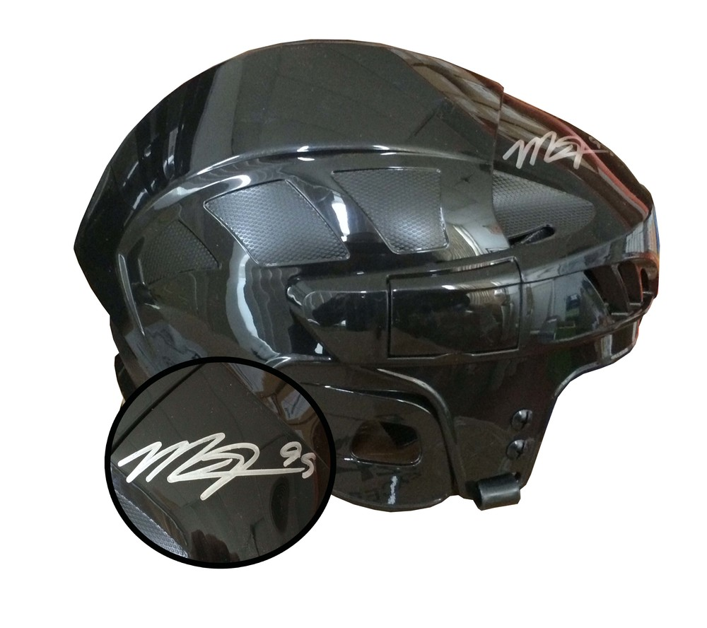 Matt Duchene Signed Helmet Black - CCM