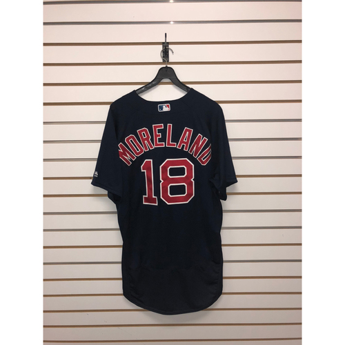 Photo of Mitch Moreland Team-Issued 2017 Road Alternate Jersey