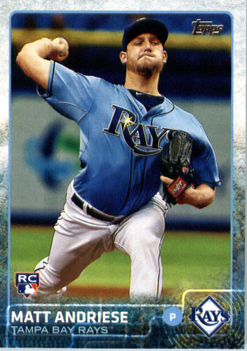 Photo of 2015 Topps Update #US34 Matt Andriese RC