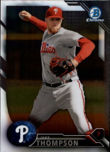 Photo of 2016 Bowman Chrome Prospects #BCP107 Jake Thompson