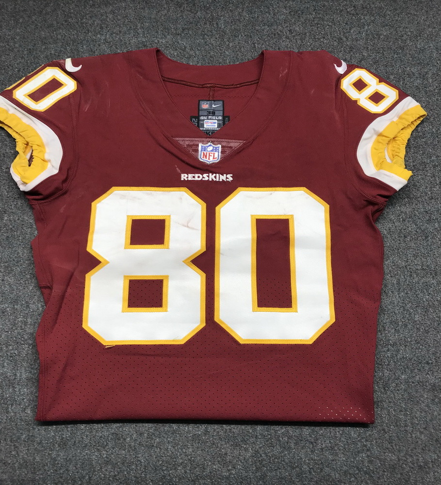 low priced 9e80f 3e15e NFL Auction | STS - Redskins Jamison Crowder game worn ...