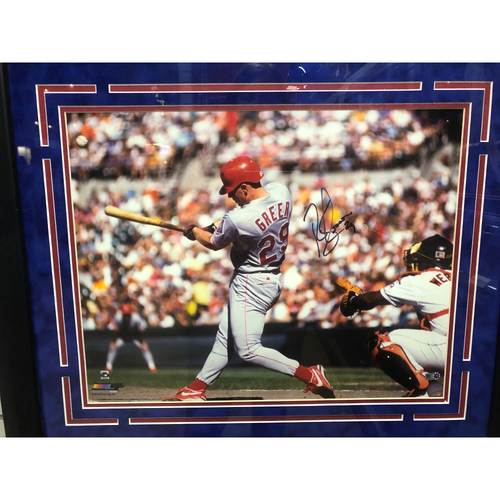 Photo of Rusty Greer Autographed 16x20 Photo
