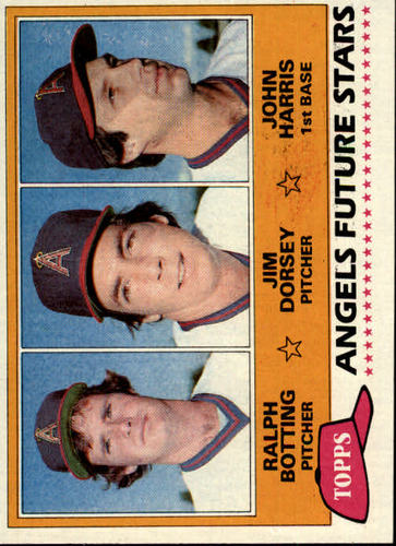 Photo of 1981 Topps #214 Ralph Botting/Jim Dorsey RC/John Harris RC
