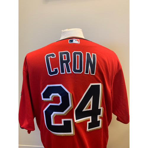 Minnesota Twins - 2019 Game-Used Spring Training Jersey - C.J. Cron