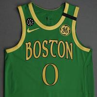 Jayson Tatum - Boston Celtics - 2020 Taco Bell Skills Challenge - Event-Worn City Edition Jersey