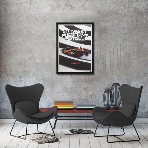Photo of Past Fuels Our Future - Limited edition F1 Poster