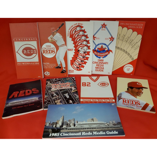 Photo of Decade of Media Guides for the 1980s - Includes All-Star Season