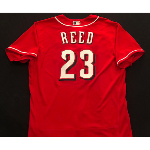 Photo of Cody Reed -- 2020 Spring Training Jersey -- Team-Issued -- Size 48
