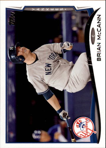 Photo of 2014 Topps Update #US12A Brian McCann