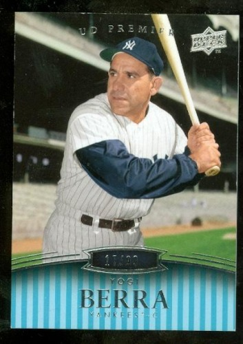 Photo of 2008 Upper Deck Premier #181 Yogi Berra