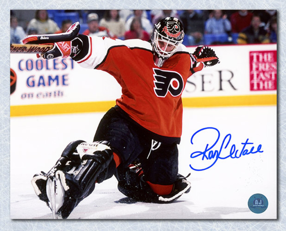 Ron Hextall Philadelphia Flyers Autographed Kick Save 16x20 Photo